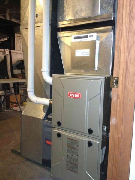 Gas Furnace Installation Small Home San Pedro Hvac Pros